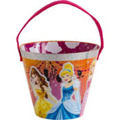 Glow In The Dark Disney Princess Treat Bucket 9in
