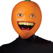 Latex Annoying Orange Mask