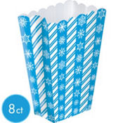 Winter Snowflake Treat Boxes 5 1/4in x 7 1/4in 8ct