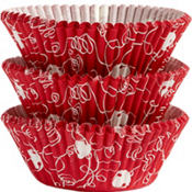 Christmas Bell Baking Cups 75ct
