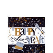 Elegant Celebration Beverage Napkins 125ct