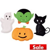Happy Hauntings Shaped Serving Tray 4pc