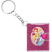 Disney Princess Keychain Notebooks