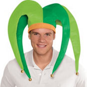 St. Patricks Day Jester Hat
