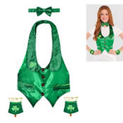 Adult Leprechaun Accessory Kit 4pc