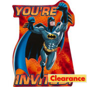 The Batman Invitations 8ct