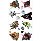 Star Wars Tattoos 8ct