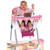 Minnie Mouse 1st Birthday High Chair Decoration Kit