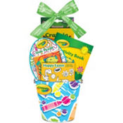 Premade Crayola Easter Basket 4 3/4in