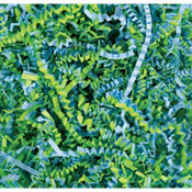 Blue & Green Paper Easter Grass
