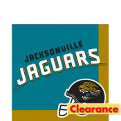 Jacksonville Jaguars Lunch Napkins 36ct