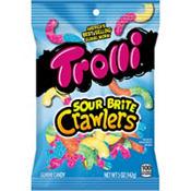 Trolli Sour Brite Crawlers Gummy Candy 42pc