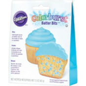 Colorburst Blue Batter Bits Cake Mix 1.5oz