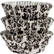 Damask Baking Cups 75ct