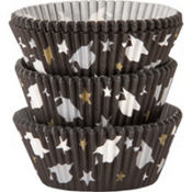 Chevron Graduation Baking Cups 75ct