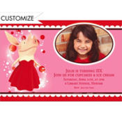 Olivia Custom Photo Invitation
