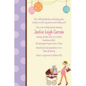 Modern Mommy Custom Invitation
