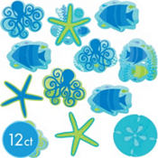 Cool Summer Cutouts 12ct