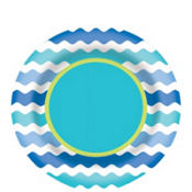 Cool Sea Plate 9in