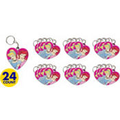 Disney Princess Keychains 24ct