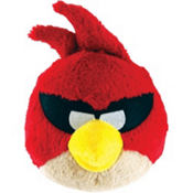 Red Angry Birds Space Plush Toy 5in