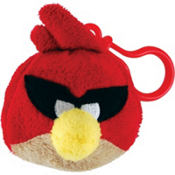 Red Angry Birds Space Backpack Clip