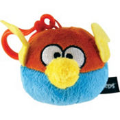 Blue/Orange Angry Birds Backpack Clip