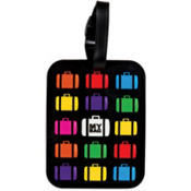 Multicolored Suitcase Luggage Tag