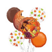 Cornucopia Balloon Bouquet 5pc