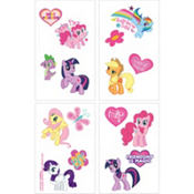 My Little Pony Tattoos 1 Sheet