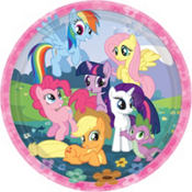 My Little Pony Lunch Plates 8ct