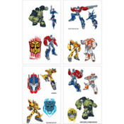 Transformers Tattoos 16ct