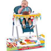 Fisher Price 1st Birthday High Chair Decorating Kit