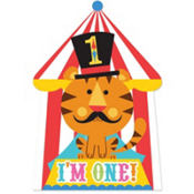 Fisher-Price 1st Birthday Circus Invitations 8ct