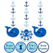 Ocean Preppy String Decorations 3ct