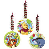 Pooh and Pals Dangling Cutouts 3ct