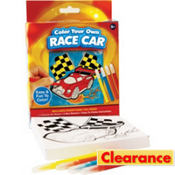 Race Car Coloring Kit