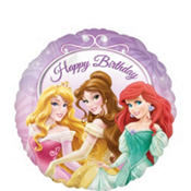 Foil Disney Princess Birthday Balloon 18in