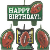 NFL Birthday Candles 4ct