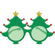 Christmas Tree Glasses