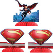 Superman Centerpieces 3ct