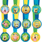 SpongeBob Award Medals 12ct