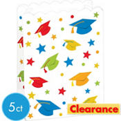 Rainbow Graduation Popcorn Boxes 5ct