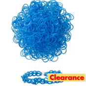 Royal Blue Rubber Loom Bands 300ct