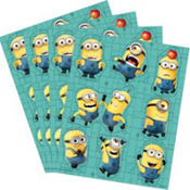 Despicable Me Stickers 4 Sheets