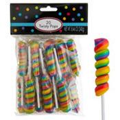 Rainbow Twisty Pops 20pc
