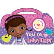 Doc McStuffins Invitations 8ct