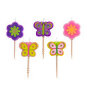 Spring Toothpick Candles 5ct