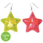 Electric Party Light-Up Earrings