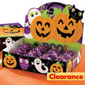 Cute Halloween Cupcake Box